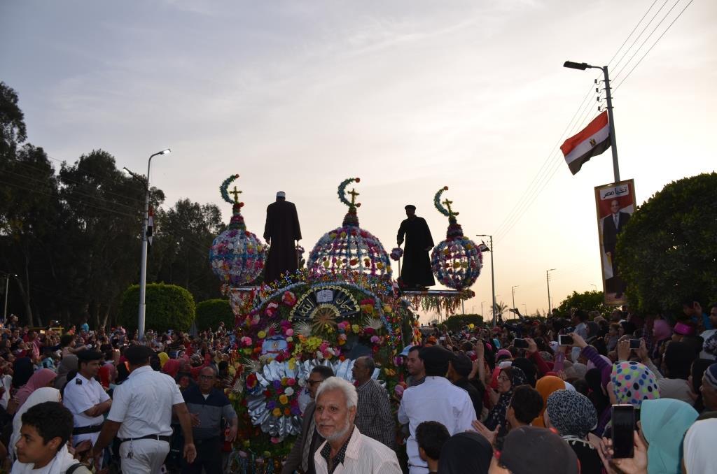 مراسم انطلاق كرنفال عربات الزهور السنوى لاحتفال أعياد الربيع وشم النسيم (3)