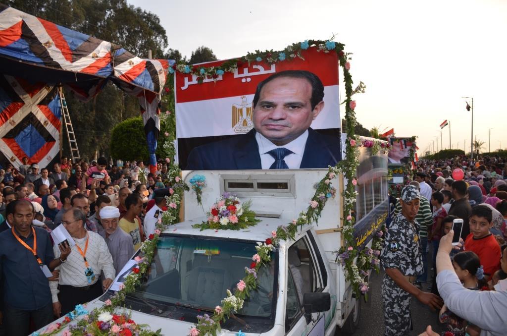 مراسم انطلاق كرنفال عربات الزهور السنوى لاحتفال أعياد الربيع وشم النسيم (12)