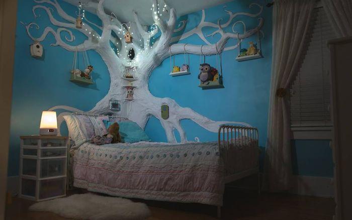 ديكور الشجرة فى المنزل (9)