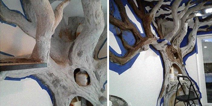 ديكور الشجرة فى المنزل (6)