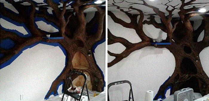 ديكور الشجرة فى المنزل (7)