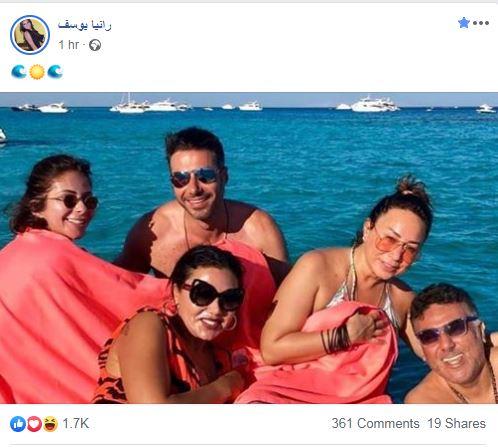 رانيا يوسف ومنى زكى وإنجى على وأحمد السعدنى وتامر حبيب