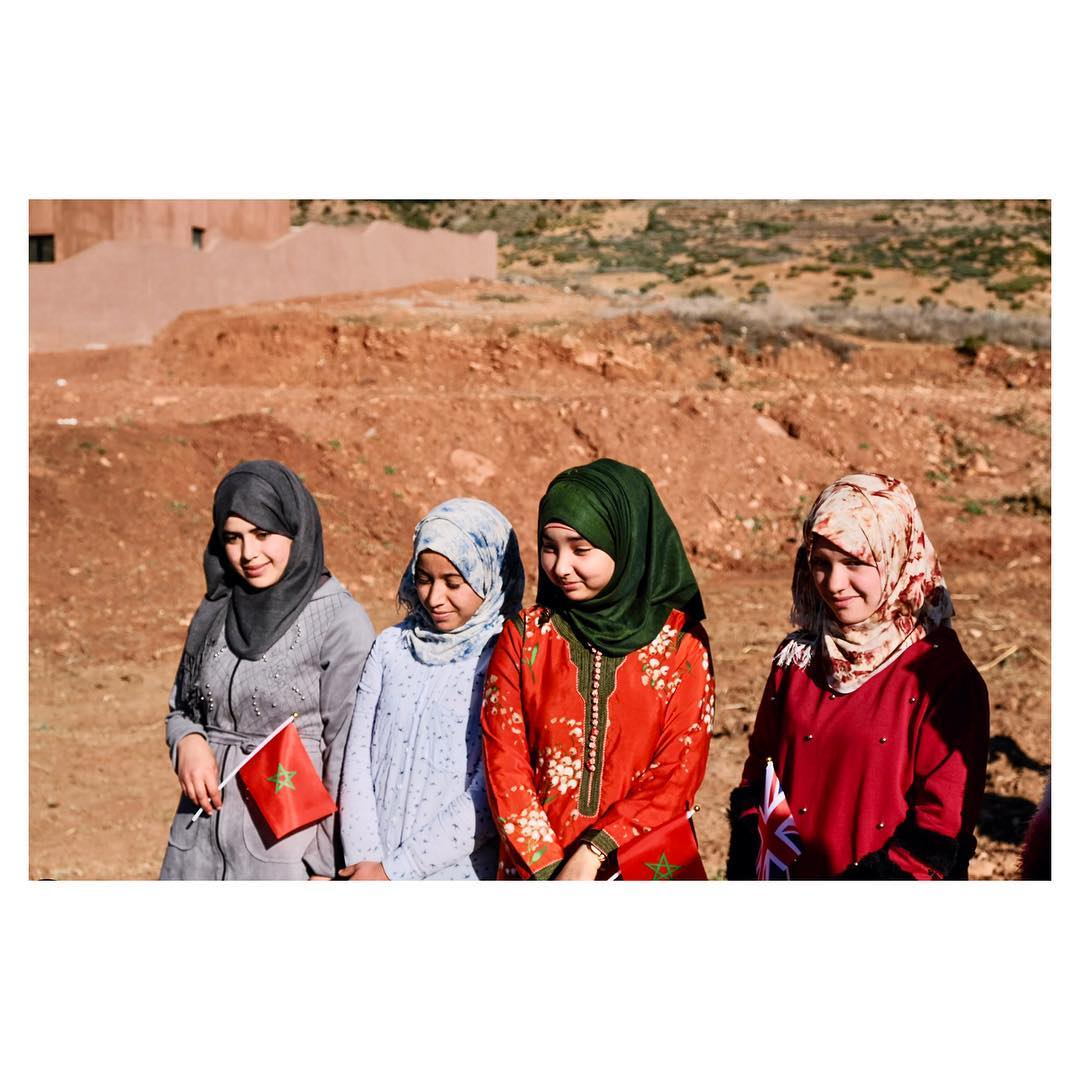 أطفال من المغرب