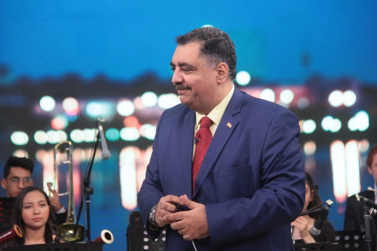 الدكتور أحمد الحناوي مؤسس وأول قائد للأوركسترا