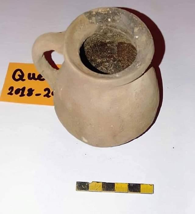 قطع الأثار المكتشفة بقويسنا بالمنوفية (3)
