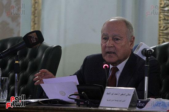 ندوة احمد ابو الغيط  (1)