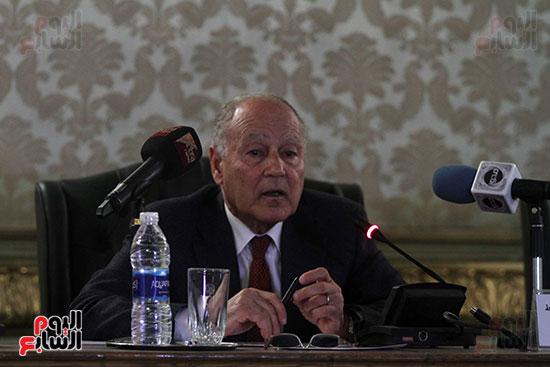 ندوة احمد ابو الغيط  (7)