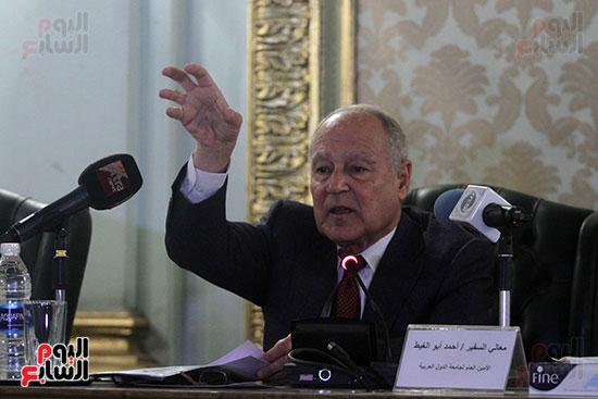ندوة احمد ابو الغيط  (2)