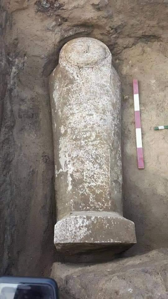 قطع الأثار المكتشفة بقويسنا بالمنوفية (1)