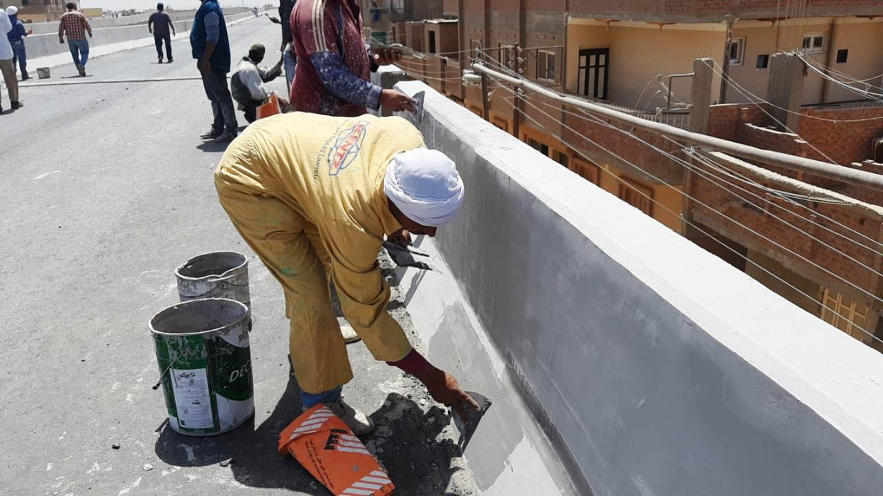 عمال مدينة ناصر الجديدة بأسيوط (3)