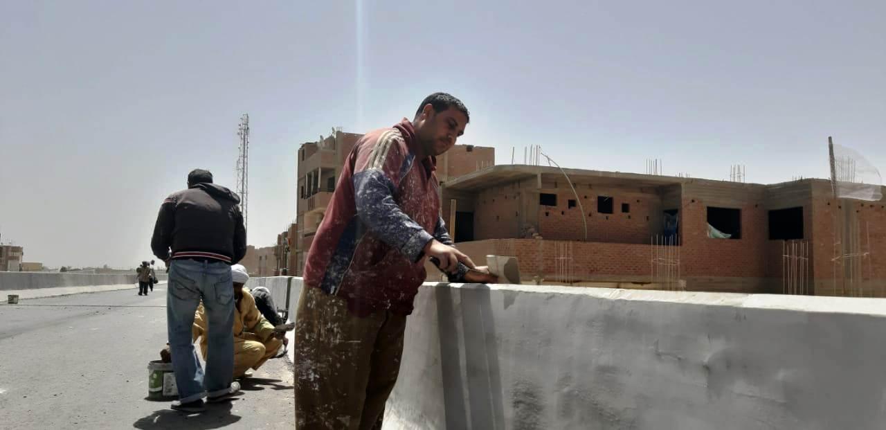 عمال مدينة ناصر الجديدة بأسيوط (5)