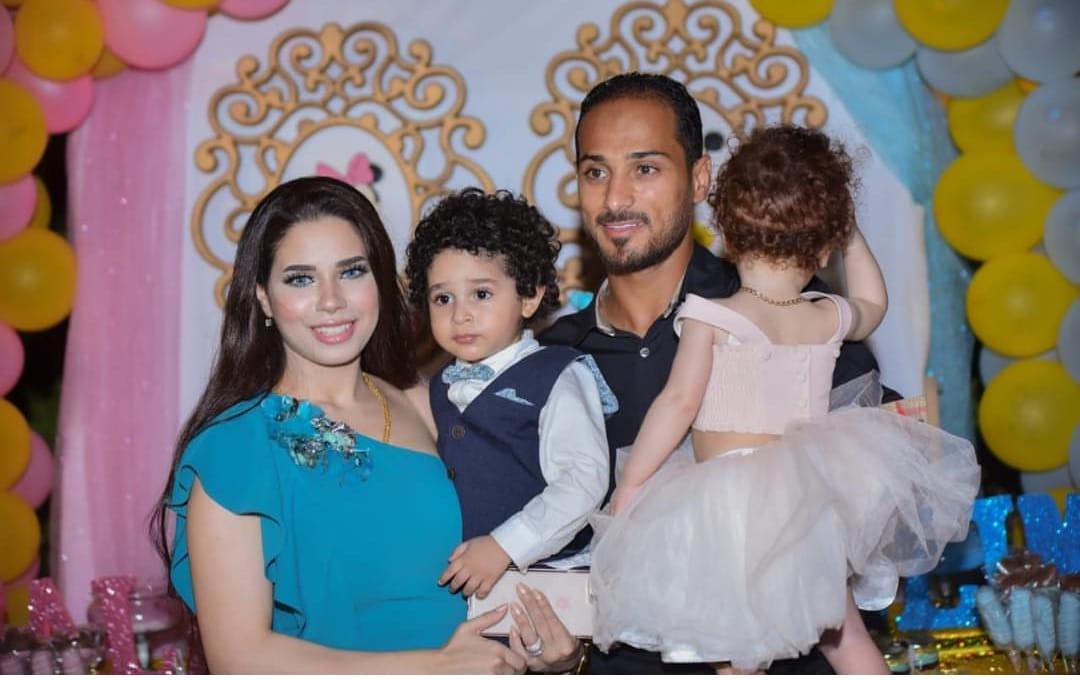 وليد سليمان و عائلته