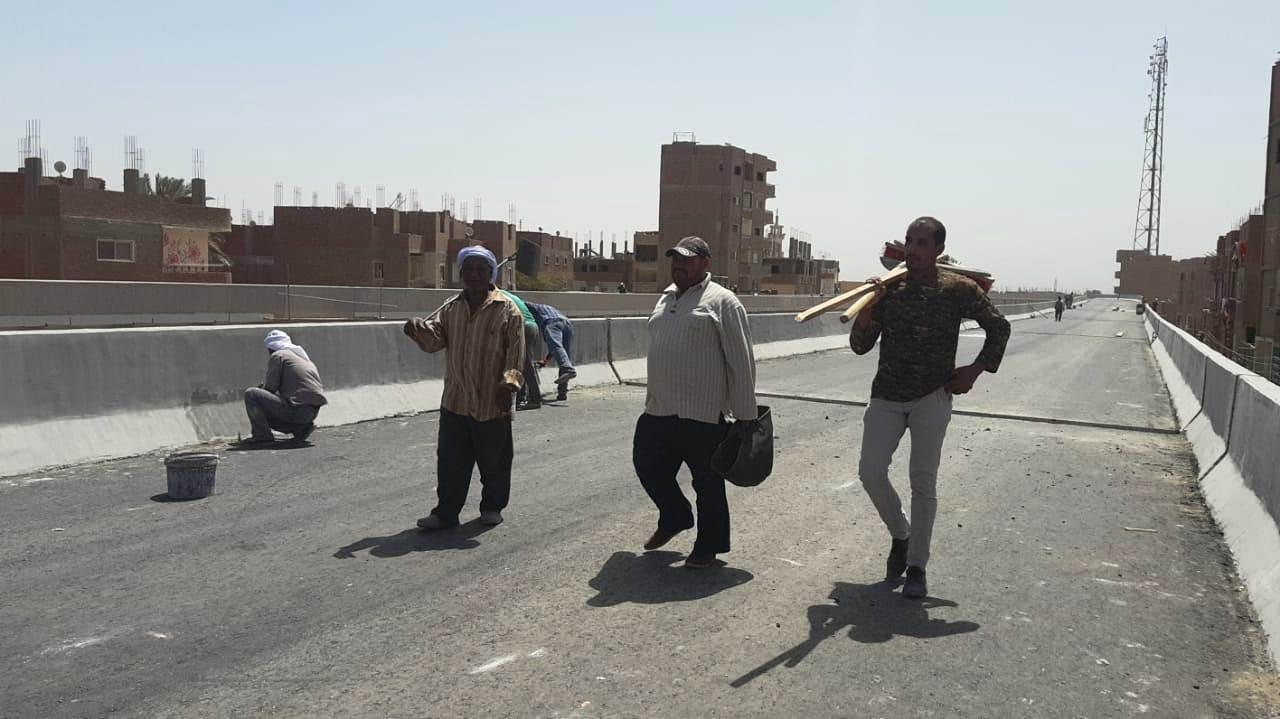 عمال مدينة ناصر الجديدة بأسيوط (4)