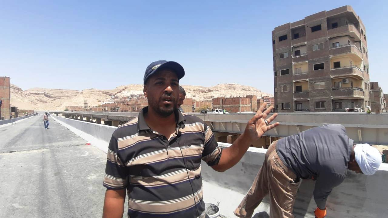 عمال مدينة ناصر الجديدة بأسيوط (1)