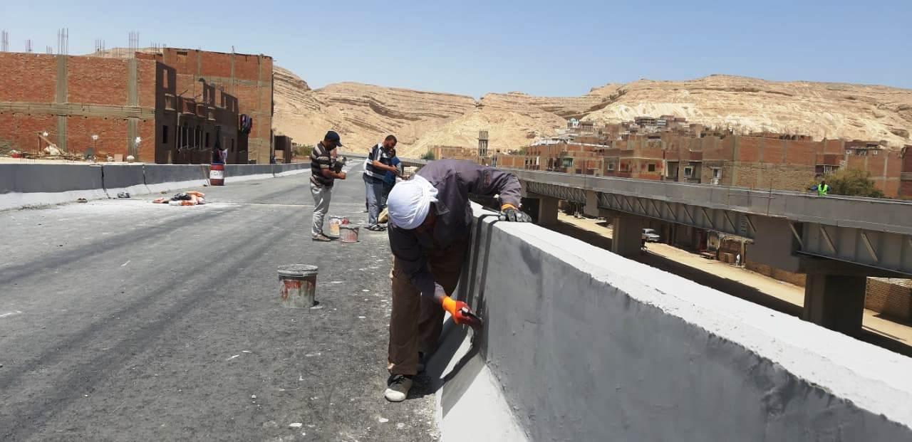 عمال مدينة ناصر الجديدة بأسيوط (2)