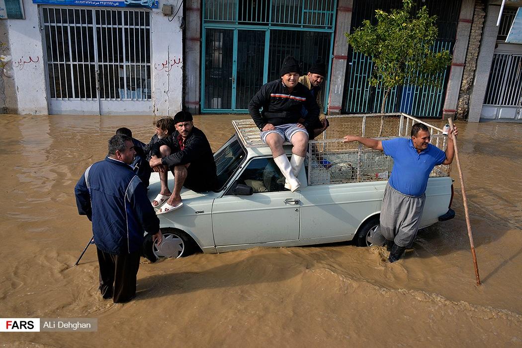 المياه تعطل السيارات