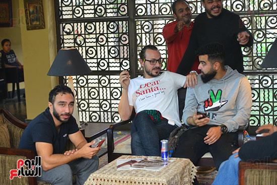 اليوم السابع فى كواليس مسلسل ياسمين عبد العزيز لآخر نفس (4)