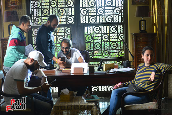 اليوم السابع فى كواليس مسلسل ياسمين عبد العزيز لآخر نفس (2)