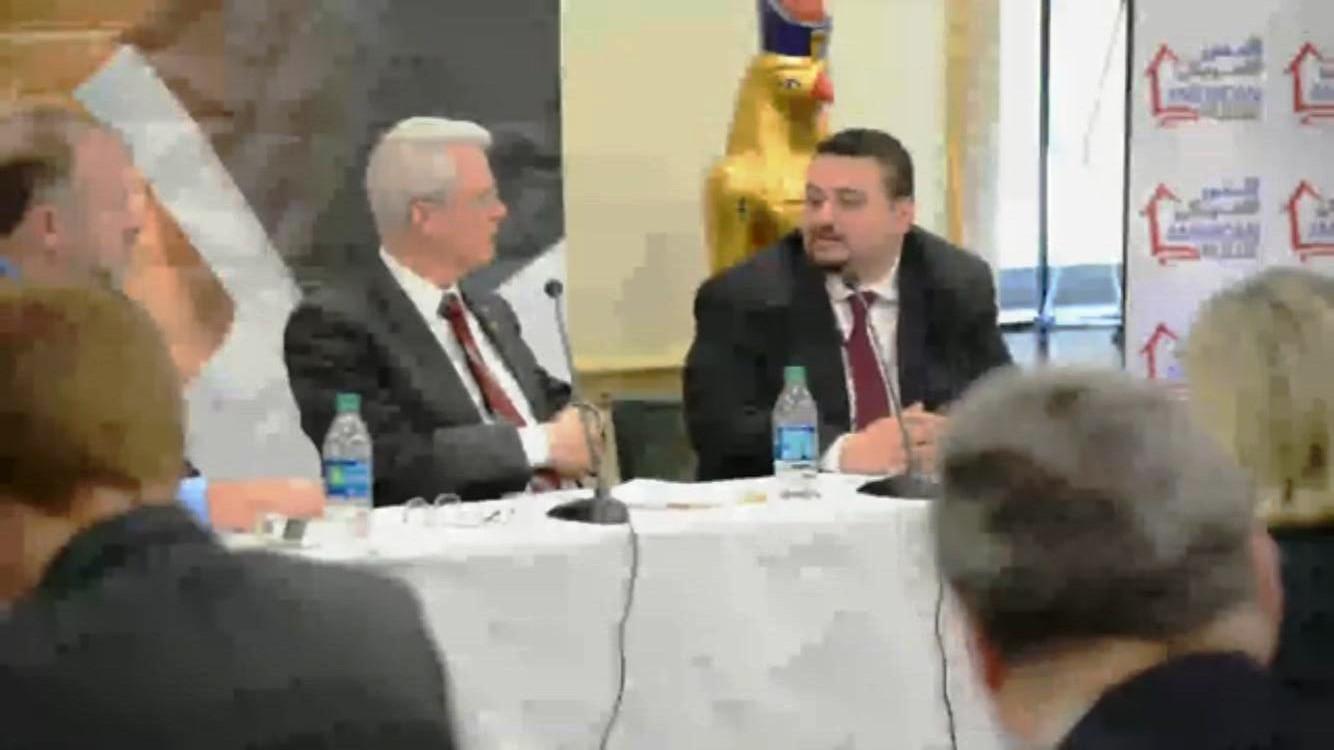 ندوة فى الكونجرس عن العلاقات المصرية الأمريكية (13)