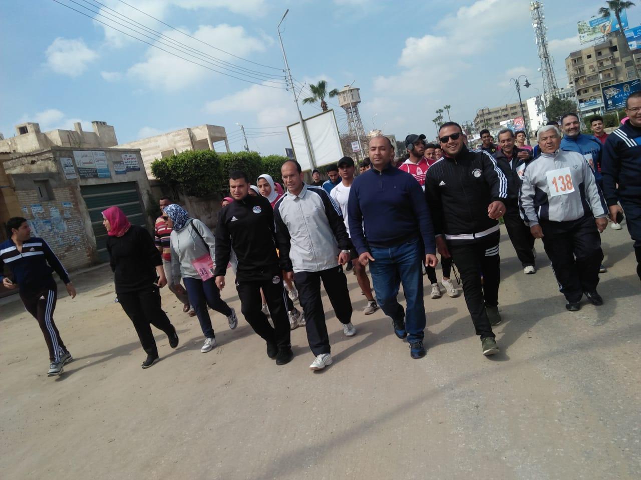 جري ومشي لتنشيط الأحياء السكنية بمدينة كفرالشيخ  (2)