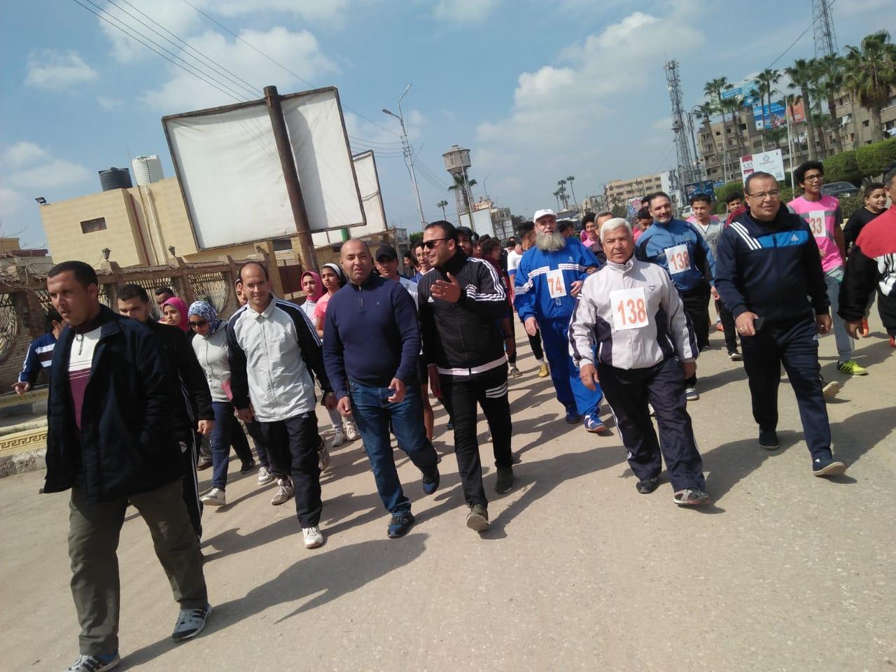 جري ومشي لتنشيط الأحياء السكنية بمدينة كفرالشيخ  (5)