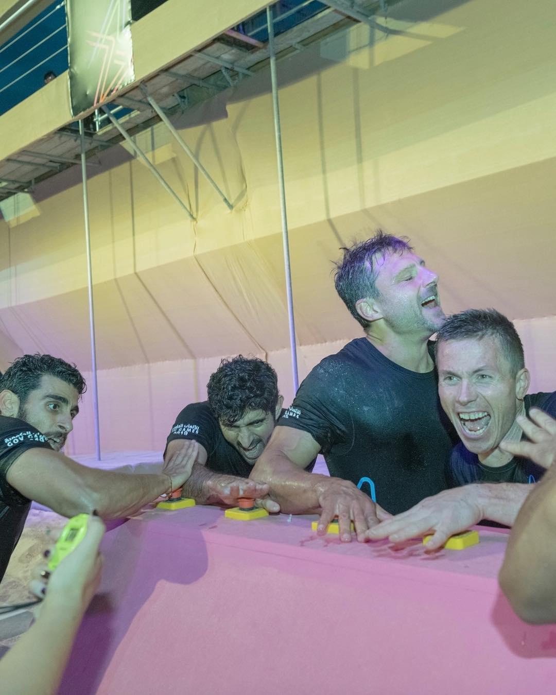 ولى عهد دبى يشارك فى منافسات الألعاب الحكومية بالإمارات  (8)