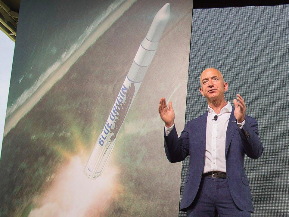 جيف بيزوس يعتزم إنفاق ثروته بالكامل على استكشاف الفضاء