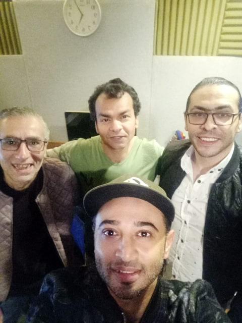 محمد محيى ومديح محسن وهانى رجب