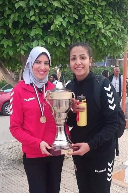 سيدات يد الأهلى يتوجن بلقب كأس مصر  (3)