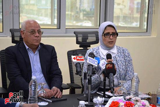 زيارة-وزيرة-الصحة-لبورسعيد-(29)