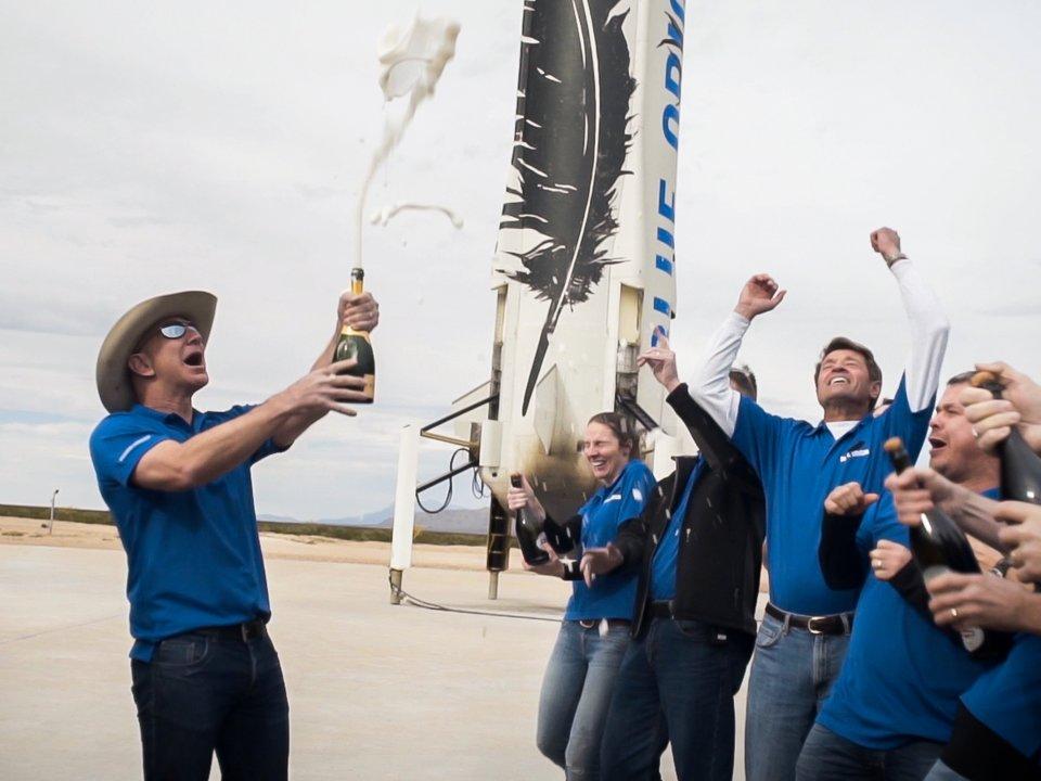 بيزوس يعتبر يعتبر Blue Origin العمل الأكثر أهمية الذي يقوم به