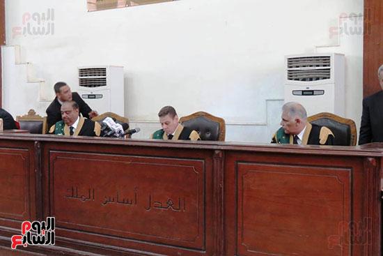 محكمة جنايات القاهرة ، قضية اقتحام الحدود (1)