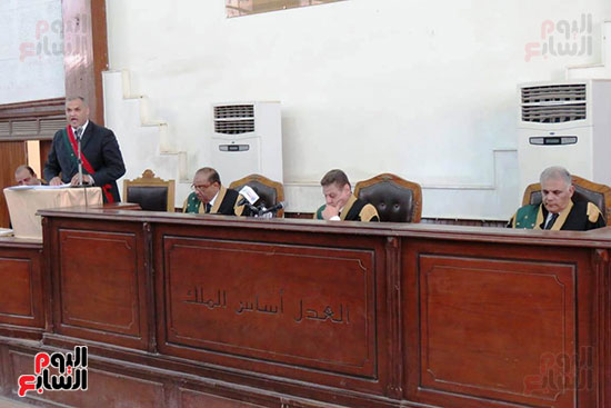 محكمة جنايات القاهرة ، قضية اقتحام الحدود (3)