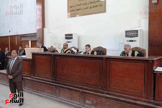 محكمة جنايات القاهرة ، قضية اقتحام الحدود (2)