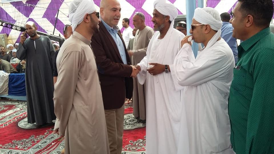 مدير أمن الأقصر ورئيس مدينة الطود يشهدان صلح وإنهاء خصومة ثأرية بين عائلتين بمنطقة نجع العرب (2)
