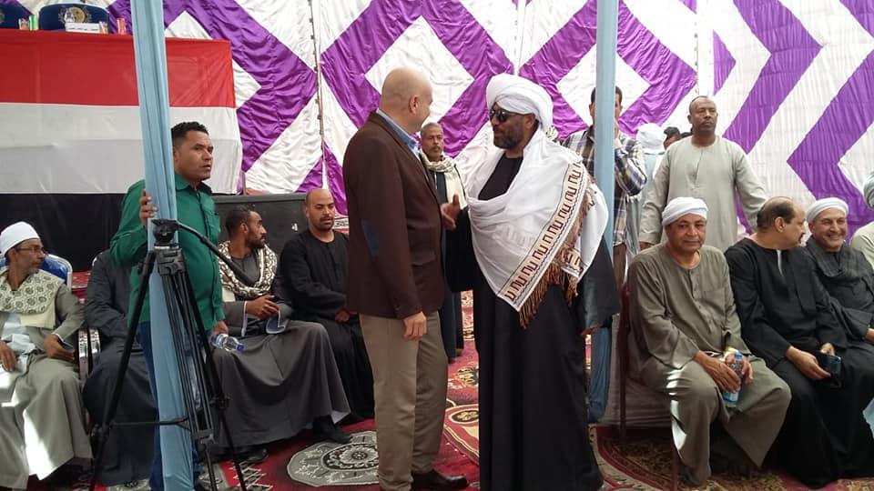 مدير أمن الأقصر ورئيس مدينة الطود يشهدان صلح وإنهاء خصومة ثأرية بين عائلتين بمنطقة نجع العرب (4)