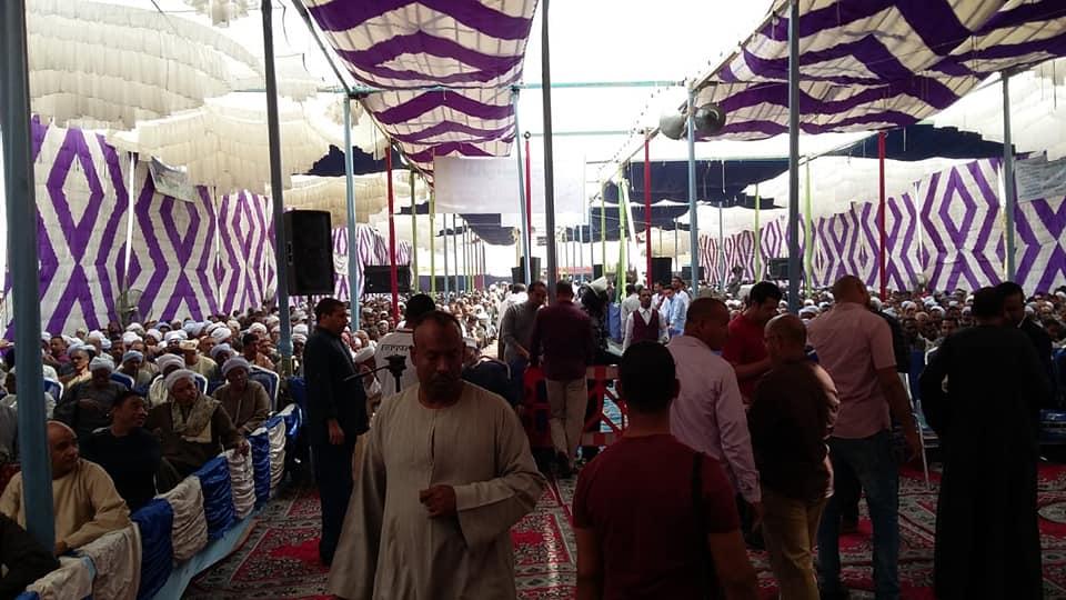 مدير أمن الأقصر ورئيس مدينة الطود يشهدان صلح وإنهاء خصومة ثأرية بين عائلتين بمنطقة نجع العرب (5)
