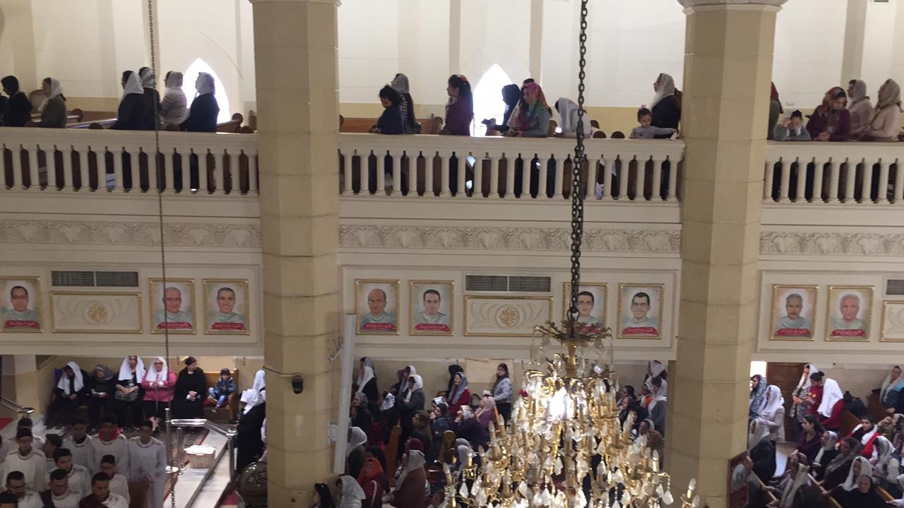 احياء الذكرى الثانية لوفاة 30 من أبناء كنيسة مارجرجس (4)