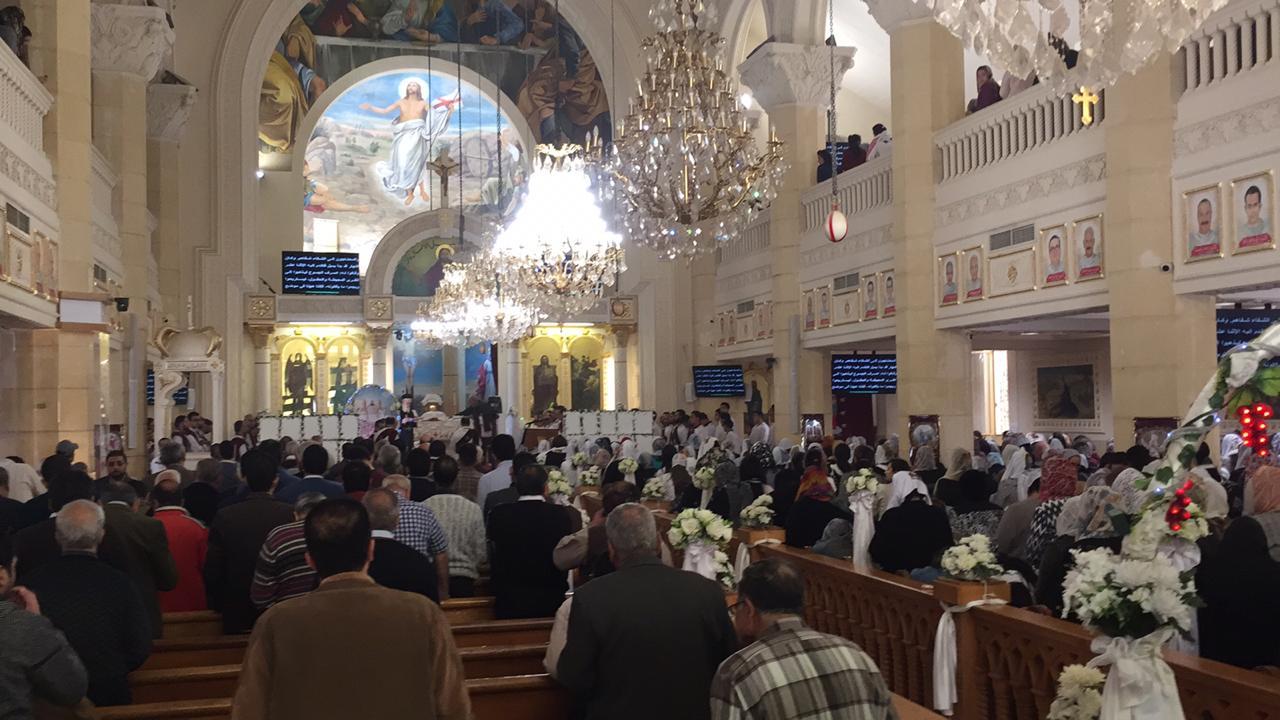احياء الذكرى الثانية لوفاة 30 من أبناء كنيسة مارجرجس (1)