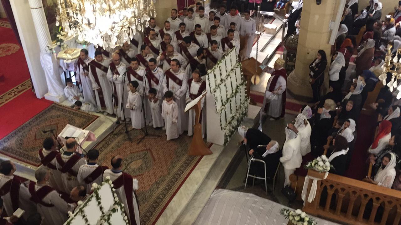 احياء الذكرى الثانية لوفاة 30 من أبناء كنيسة مارجرجس (3)