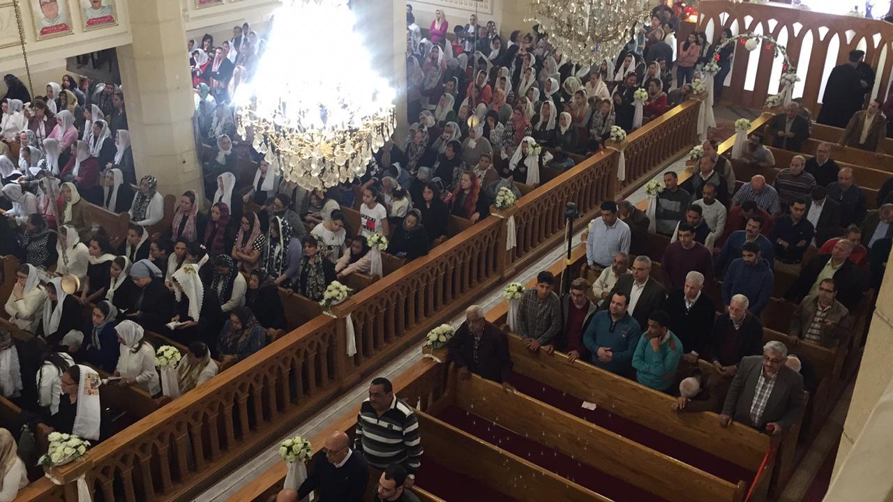 احياء الذكرى الثانية لوفاة 30 من أبناء كنيسة مارجرجس (6)