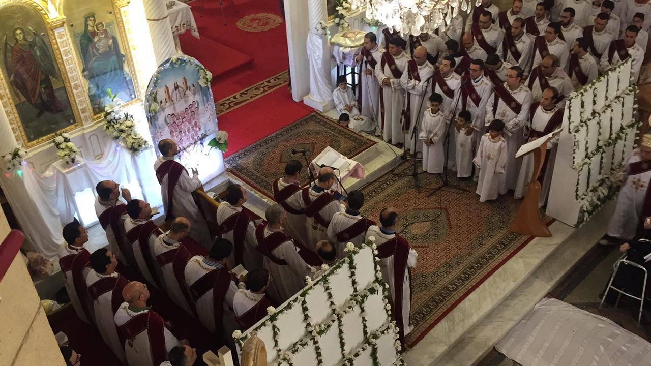 احياء الذكرى الثانية لوفاة 30 من أبناء كنيسة مارجرجس (5)