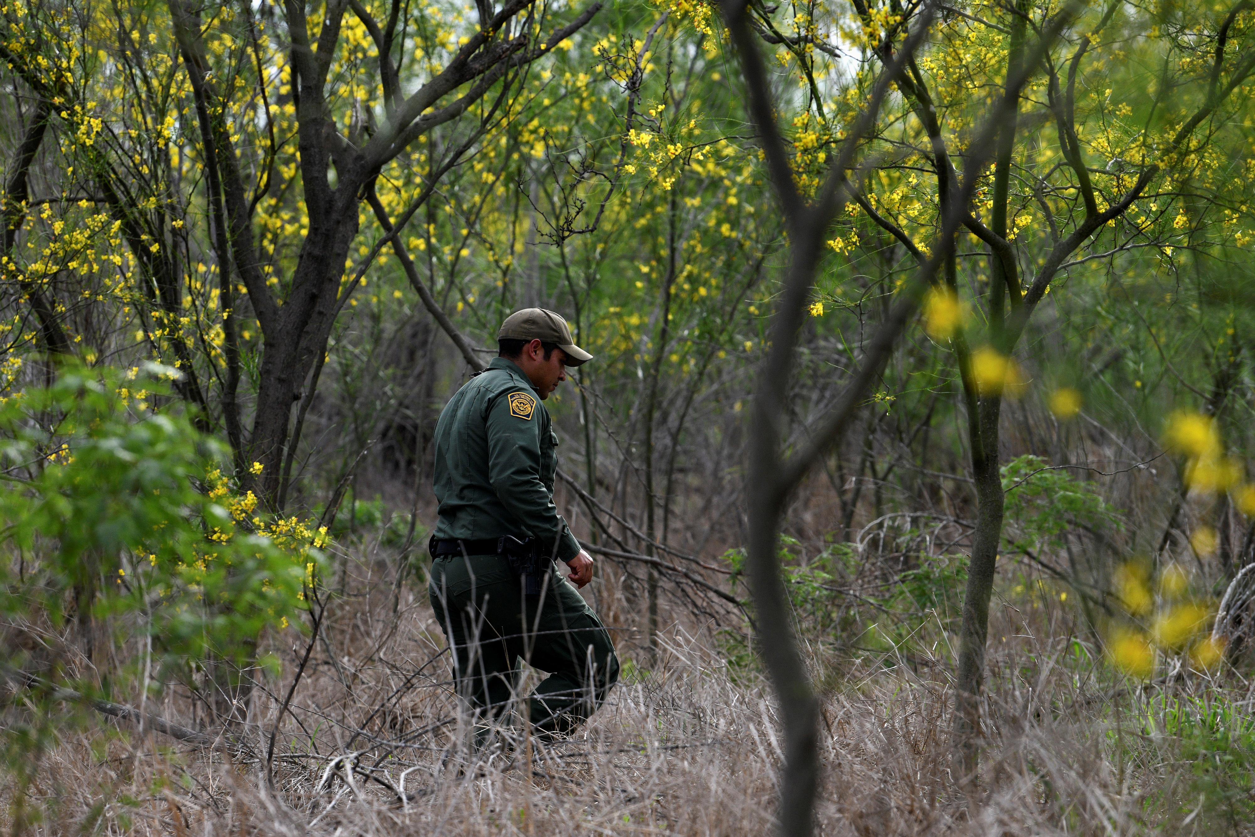 تمشيط للحدود الأمريكية - المكسيكية