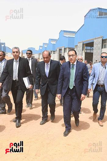 الدكتور مصطفى مدبولى رئيس الوزراء من مدينة الروبيكى (7)