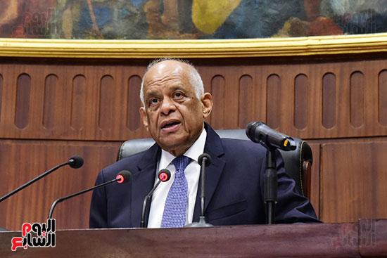 اجتماع لجنة الشئون الدستورية والتشريعية برئاسة الدكتور على عبد العال رئيس مجلس النواب (1)