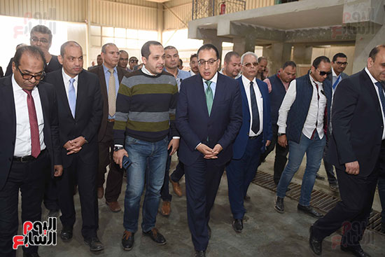 الدكتور مصطفى مدبولى رئيس الوزراء من مدينة الروبيكى (17)