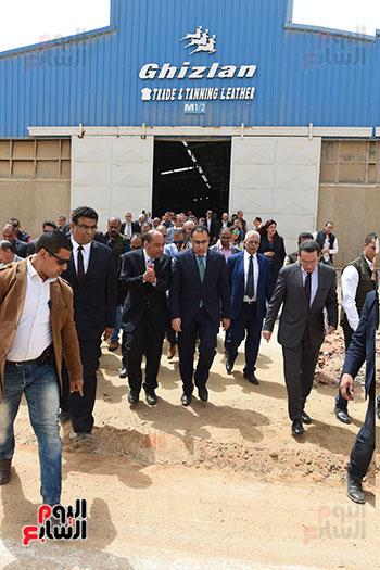 الدكتور مصطفى مدبولى رئيس الوزراء من مدينة الروبيكى (16)