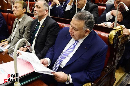 اجتماع لجنة الشئون الدستورية والتشريعية برئاسة الدكتور على عبد العال رئيس مجلس النواب (2)