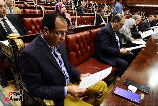 اجتماع لجنة الشئون الدستورية والتشريعية برئاسة الدكتور على عبد العال رئيس مجلس النواب (5)