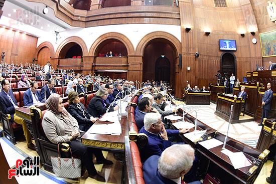 اجتماع لجنة الشئون الدستورية والتشريعية برئاسة الدكتور على عبد العال رئيس مجلس النواب (18)